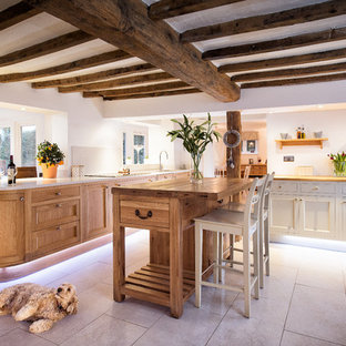 Inspiration for a country kitchen in Other.