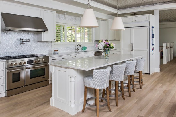 Beach Style Kitchen By Maine Video Tours