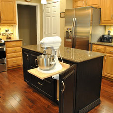 Traditional Kitchen by The HomeWright, LLC