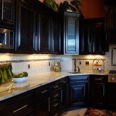 Traditional Kitchen by Trish Barmettler Designs