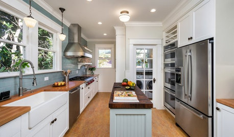 8 Narrow Kitchen Islands With Function to Spare