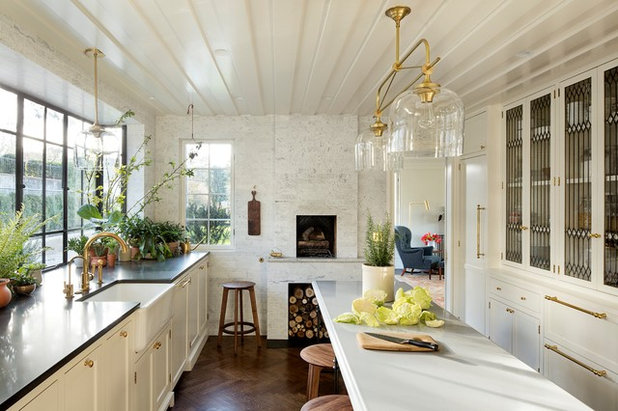 Transitional Kitchen by The Works
