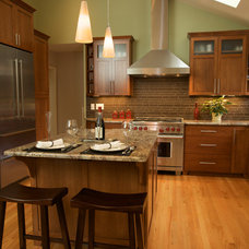 Transitional Kitchen by Designer's Edge Kitchen & Bath