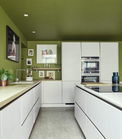 Contemporary Kitchen by Dublin Design Studio