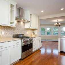 Traditional Kitchen by Ridgeview Construction