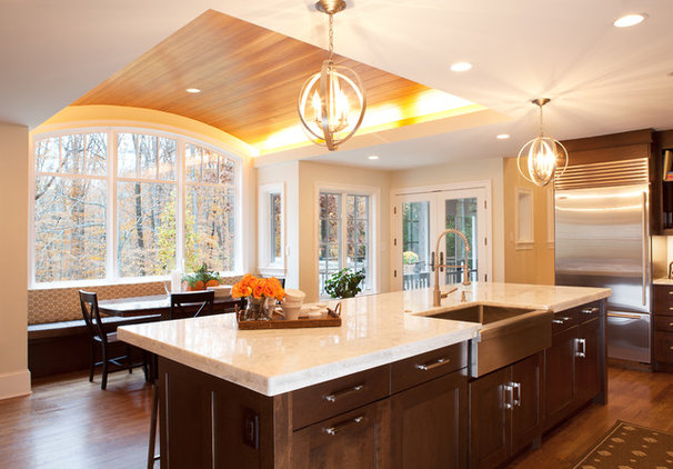 Transitional Kitchen by Aidan Design