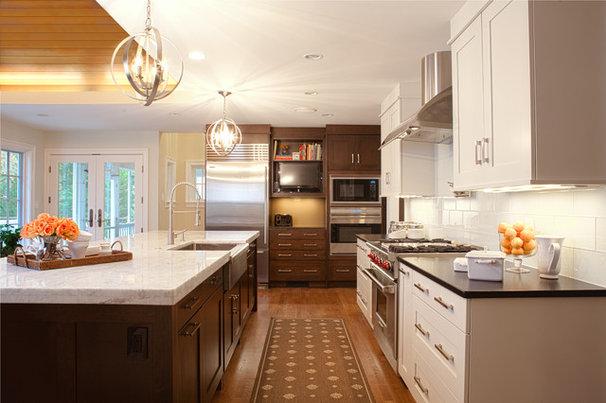 Transitional Kitchen by Aidan Design