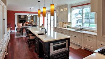 Potomac, MD Craftsman Shaker Cabinets