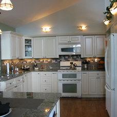 Traditional Kitchen by Wyland Interior Design Center