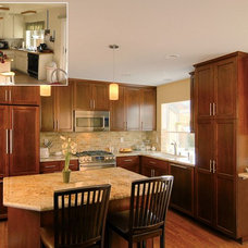 Traditional Kitchen by Murray Lampert Design, Build, Remodel