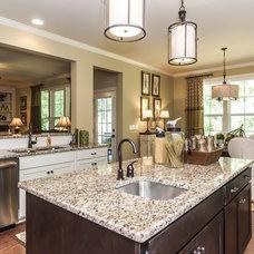 Craftsman Kitchen by Robuck Homes