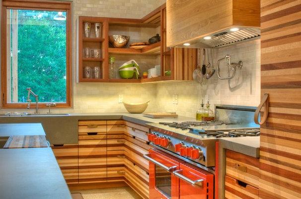 Modern Kitchen by josh wynne construction