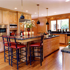 Eclectic Kitchen by Interiors by Mary Susan