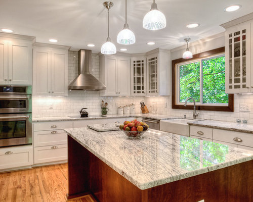 Glacier White Granite Houzz