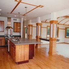 Contemporary Kitchen by John Hall Custom Homes
