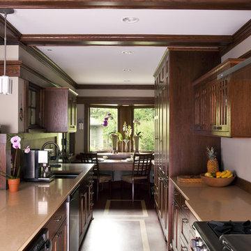 Prairie Style Addition & Kitchen - Kitchen