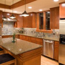 Craftsman Kitchen by LandMark Photography