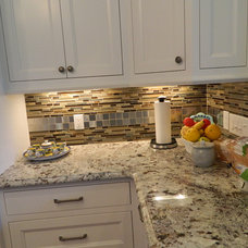 Traditional Kitchen by Precision Granite & Marble