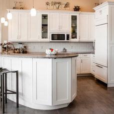 Transitional Kitchen by Premier Showcase
