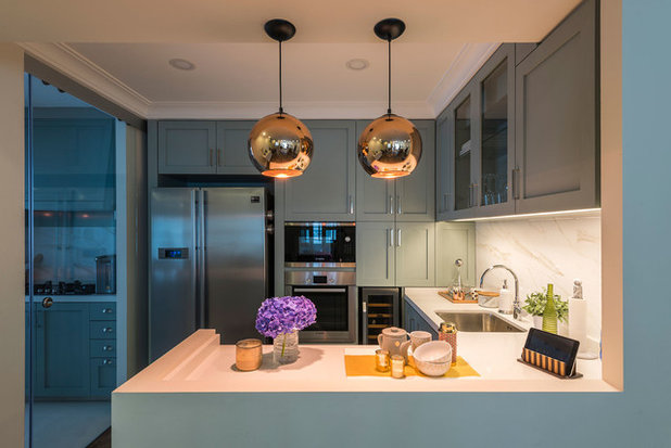 Transitional Kitchen by Aiden T