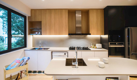 Kitchen Tour: Condo Cookspace is Designed for a Growing Family