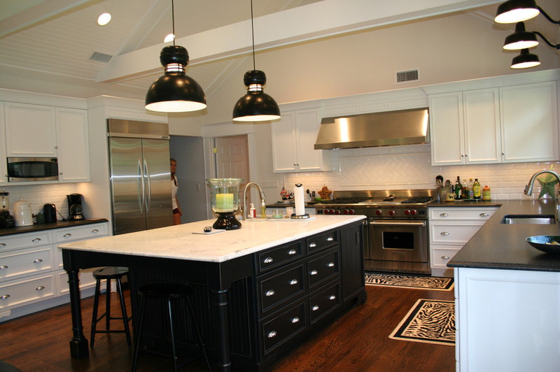 island is one of the first eye catching features of corn s kitchen