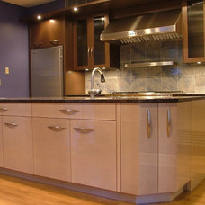Contemporary Kitchen by William V. Noval