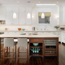 Transitional Kitchen by Upscale Construction