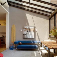 Contemporary Family Room by Jeff King & Company