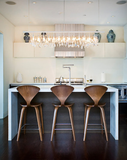 Elegant Contemporary Kitchen By Marla Schrank Interiors