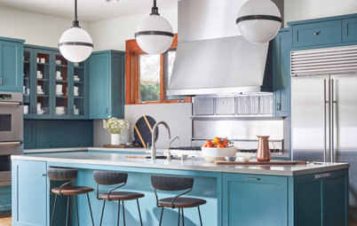 New This Week: 6 Kitchens With Beautiful Blue Cabinets