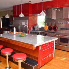 eclectic kitchen by Amy Renea