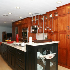 Contemporary Kitchen by Kitchen Masters, Inc.