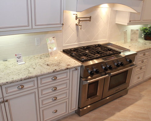 White Galaxy Granite Ideas, Pictures, Remodel and Decor