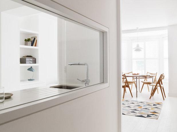 シャビーシック調 キッチン by Amos Goldreich Architecture