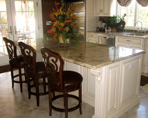 Kitchen design ideas renovations photos with glass for Annmarie ruta elegant interior designs