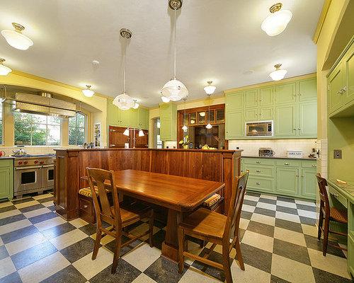 Kitchen Linoleum Floor Houzz