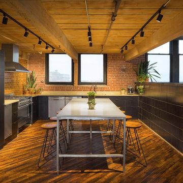 Printfresh Studio Thin Brick Kitchen