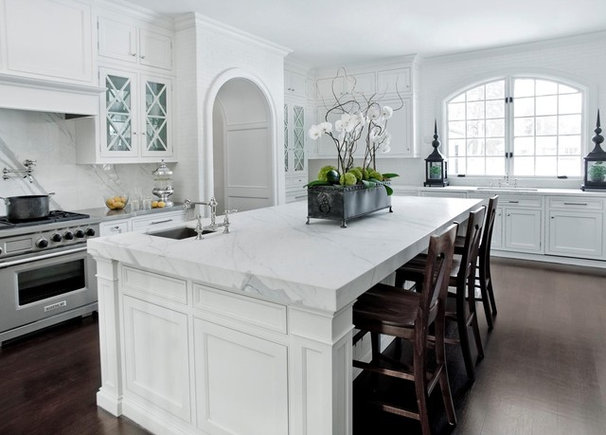 Traditional Kitchen by Caden Design Group