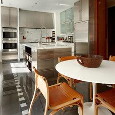 Contemporary Kitchen by Scott Himmel, Architect P.C.