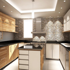 Contemporary Kitchen by Islam Kamal