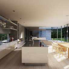 Contemporary Kitchen by Strom Architects