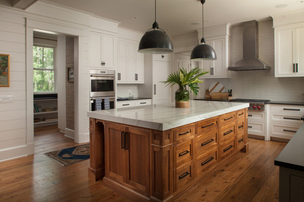 Beach Style Kitchen by Felder & Associates