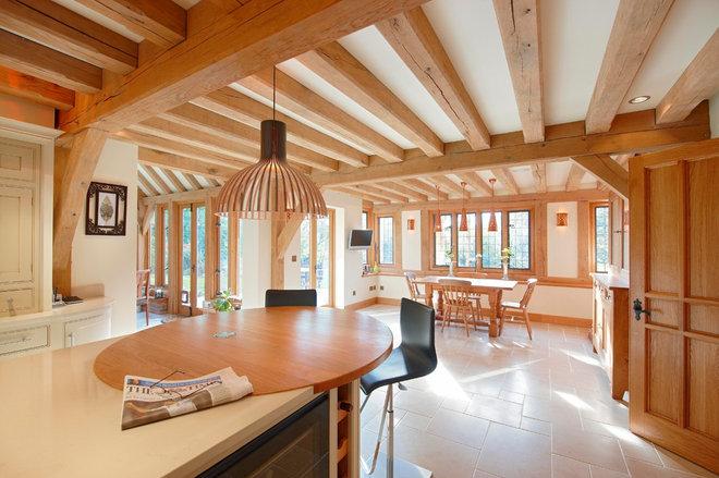 Rustic Kitchen by Greenleaf Lighting Ltd