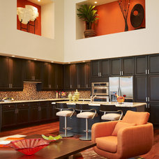 contemporary kitchen by Susan Lachance Interior Design