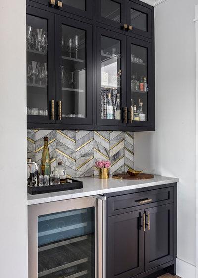Современный Кухня by A-List Interiors