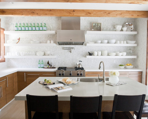 open shelving range hood houzz kitchen open shelving the best inspiration amp tips the