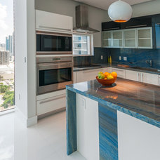 Contemporary Kitchen by Opustone