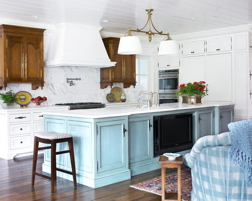 Mixing Cabinet Colors Design Ideas Amp Remodel Pictures Houzz