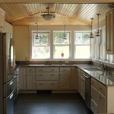 Traditional Kitchen by David Matero Architecture